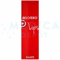 BELOTERO® LIPS SHAPE w/ Lidocaine 25.5mg/ml, 3mg/ml 1-0.6ml prefilled syringe