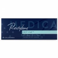 Image of RESTYLANE® DEFYNE (EMERVEL DEEP) box in English