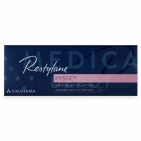 Image of RESTYLANE™ KYSSE™ 0,3% LIDOCAINE box in English