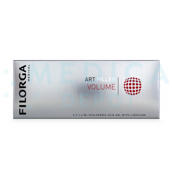 FILORGA ART FILLER VOLUME with Lidocaine 1.2 mL 2 pre-filled syringes