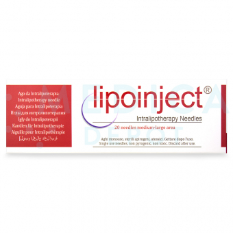 LIPOINJECT® MEDIUM-LARGE AREA 24G/100mm 20 needles