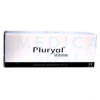 PLURYAL® VOLUME 2x1mL 23mg/ml 2 prefilled syringes