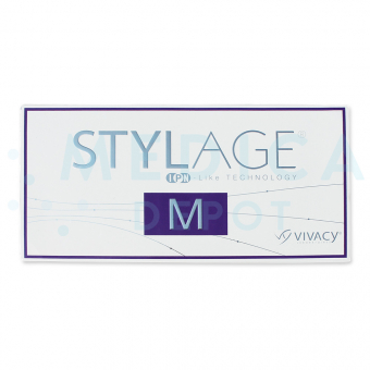 STYLAGE® M 20mg/ml 2-1ml prefilled syringes