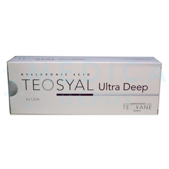 TEOSYAL® ULTRA DEEP 2x1.2mL 1.2ml 2 pre-filled syringes