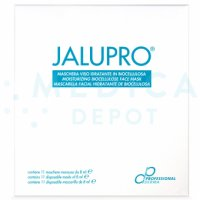 JALUPRO® MOISTURIZING BIOCELLULOSE FACE MASKS (11x8ml)  11-8ml masks
