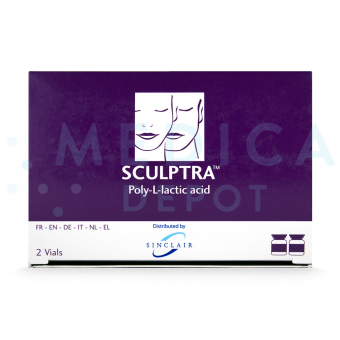 Image of Sculptra filler box