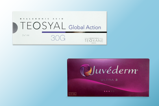 Teosyal vs. Juvederm: Similarities and Differences