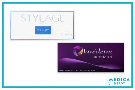 Stylage vs Juvederm: Similarities and Differences