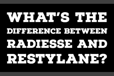 The Differences between Radiesse and Restylane