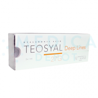 TEOSYALu00ae DEEP LINES 1ml 2 pre-filled syringes
