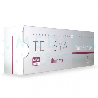 TEOSYALu00ae PURESENSE ULTIMATE 2x1mL. 1mL 2 pre-filled syringes