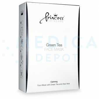 PRINCESSu00ae SKINCARE GREEN TEA MASK  8 sachets