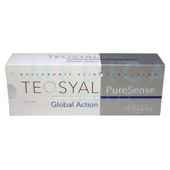 TEOSYAL® PURESENSE GLOBAL ACTION 1mL 2 pre-filled syringes
