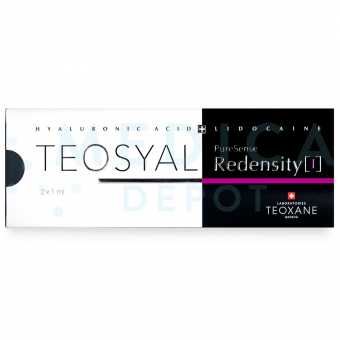 TEOSYAL® PURESENSE REDENSITY I 2x1ml 1mL 2 syringes